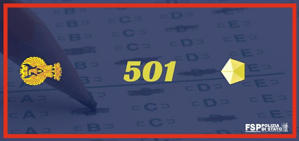 501 vice ispettori