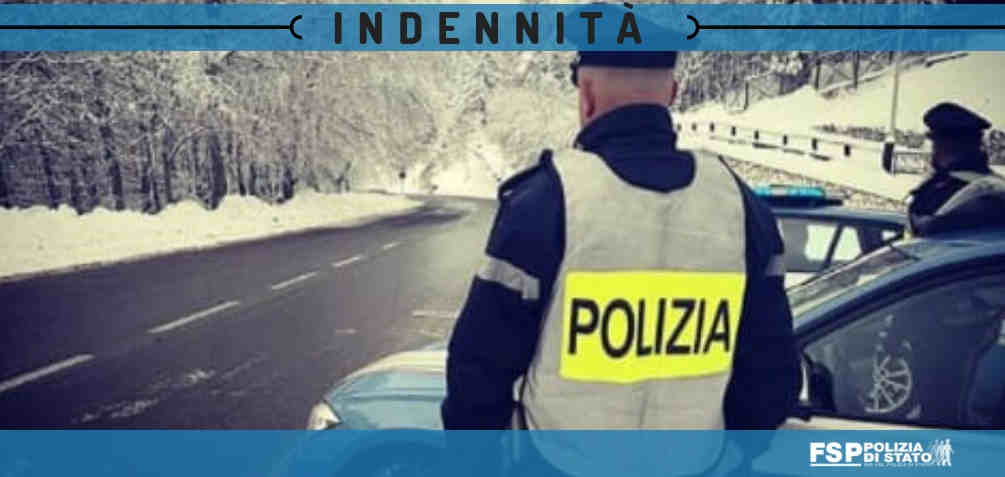 indennità polizia stradale