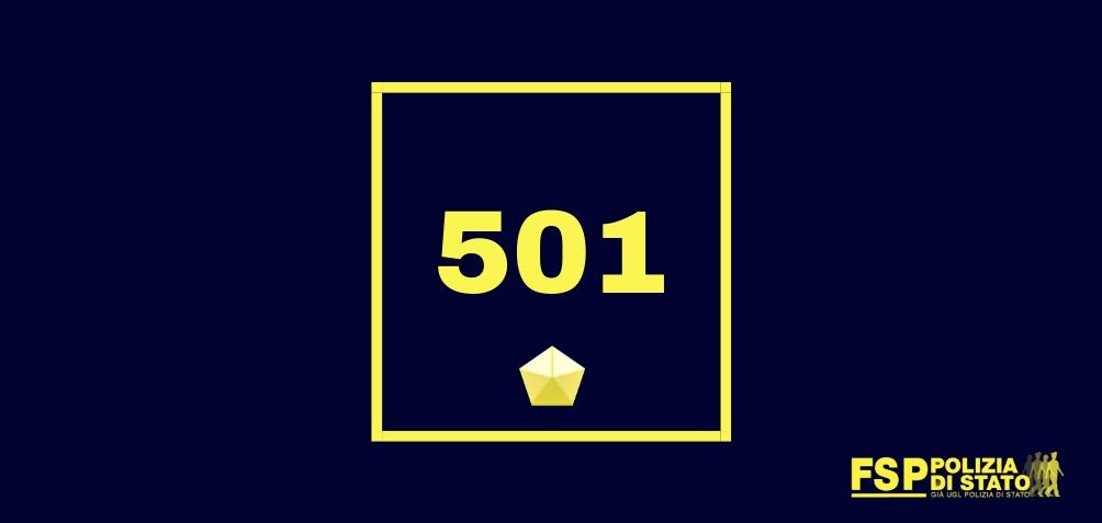 501 vice ispettore