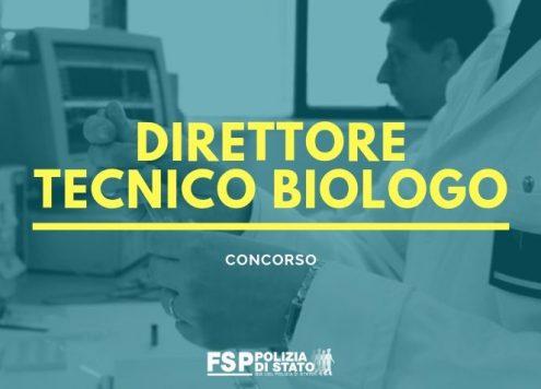 Concorso direttore tecnico biologo