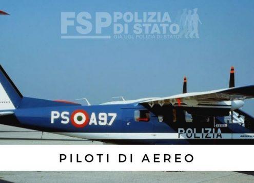 corso pilota aereo polizia