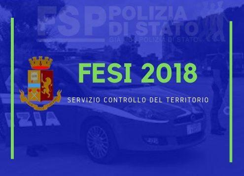 fesi 2018 servizio controllo del territorio