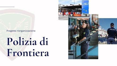 riorganizzazione polizia di frontiera
