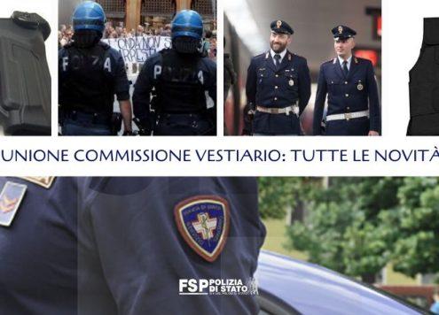 Commissione Vestiario Polizia di Stato