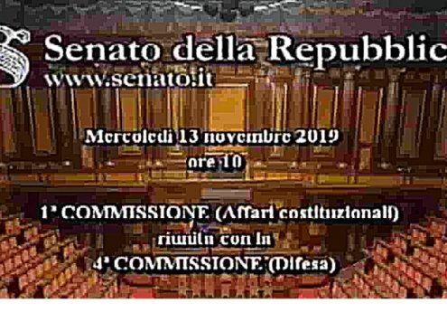 Riordino correttivi bis. Commissioni senato