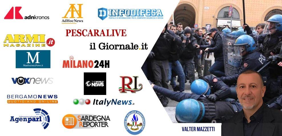 No identificativi FSP Polizia sugli organi di stampa