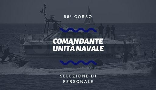 58 corso comandante unità navale