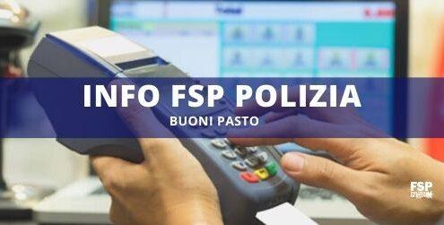 Buoni Pasto Info FSP Polizia
