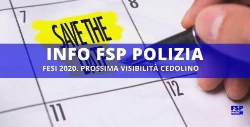 FESI 2020 cedolino