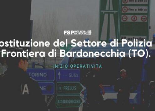 Polizia di frontiera Bardonecchia